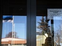 003 Lipud Sindi asutustel. Foto: Urmas Saard / Külauudised