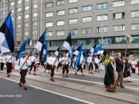 002 Lipud XXVII laulu- ja XX tantsupeol. Foto: Peeter Hütt