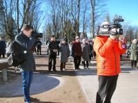 001 Lüdigi lauljad tervitavad kevadet Tallinna väravate all. Foto: Urmas Saard