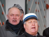 002 Lüdigi lauljad tervitavad kevadet Tallinna väravate all. Foto: Urmas Saard