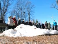 003 Lüdigi lauljad tervitavad kevadet Tallinna väravate all. Foto: Urmas Saard
