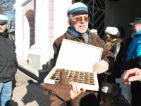 016 Lüdigi lauljad tervitavad kevadet Tallinna väravate all. Foto: Urmas Saard