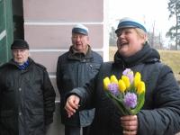 010 Lüdigi mehed laulsid kevadele. Foto: Urmas Saard