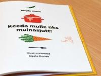 023 Lugemisprojekti Meie Väike Raamatukogu Sindi gümnaasiumis. Foto: Urmas Saard