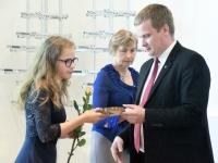 016 Maavanema vastuvõtt parimatele õpilastele. Foto: Urmas Saard