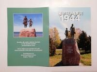 "4 Mälestusmärk Puise rannas, brošüür ""September 1944"""