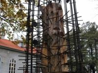 003 Mälestussammas Tšornobõli meestele. Foto: Urmas Saard