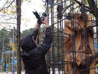 024 Mälestussammas Tšornobõli meestele. Foto: Urmas Saard