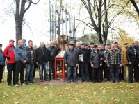 029 Mälestussammas Tšornobõli meestele. Foto: Urmas Saard