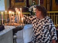 004 Mälestustahvlite avamine EAÕK Tahkuranna kirikus. Foto: Urmas Saard