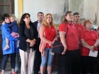 006 Mälestustahvlite avamine EAÕK Tahkuranna kirikus. Foto: Urmas Saard