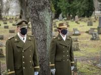 002 Mälestustseremoonia kaitseväe kalmistul. Foto: Stenbocki maja