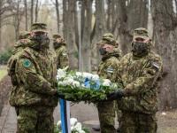 003 Mälestustseremoonia kaitseväe kalmistul. Foto: Stenbocki maja