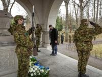 004 Mälestustseremoonia kaitseväe kalmistul. Foto: Stenbocki maja
