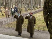 005 Mälestustseremoonia kaitseväe kalmistul. Foto: Stenbocki maja