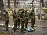 008 Mälestustseremoonia kaitseväe kalmistul. Foto: Stenbocki maja