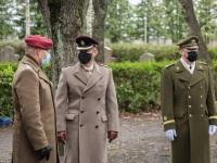 012 Mälestustseremoonia kaitseväe kalmistul. Foto: Stenbocki maja