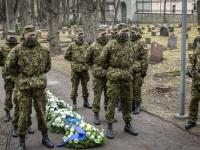 014 Mälestustseremoonia kaitseväe kalmistul. Foto: Stenbocki maja