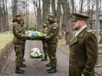 016 Mälestustseremoonia kaitseväe kalmistul. Foto: Stenbocki maja