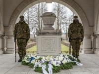 018 Mälestustseremoonia kaitseväe kalmistul. Foto: Stenbocki maja