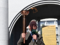 007 Mälestustule teekonnal Pärnust Tartusse. Foto: Urmas Saard
