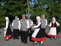 015 Mälestustulega Pärnust Rakverre. Foto: Urmas Saard