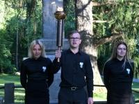018 Mälestustulega Pärnust Rakverre. Foto: Urmas Saard