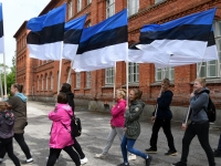 003 Maraton Eesti Vabariik 100 läbib Sindit. Foto: Urmas Saard