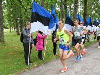 011 Maraton Eesti Vabariik 100 läbib Sindit. Foto: Urmas Saard