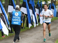 016 Maraton Eesti Vabariik 100 läbib Sindit. Foto: Urmas Saard