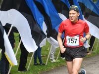 017 Maraton Eesti Vabariik 100 läbib Sindit. Foto: Urmas Saard