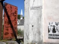 """Mare Tralla näituse """"Enne ja pärast"""" avapäeval. Foto Urmas Saard / Külauudised"""