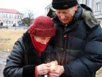 005 Märtsiküüditamise 69. mälestuspäeval Pärnus. Foto: Urmas Saard