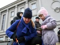 008 Märtsiküüditamise 69. mälestuspäeval Pärnus. Foto: Urmas Saard