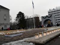 009 Märtsiküüditamise 69. mälestuspäeval Pärnus. Foto: Urmas Saard