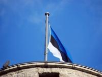 Lipu päeva tähistamine 2014. aasta 4. juuni hommikul Toompeal, Kuberneri aias