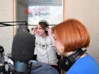 Mihkel Kübar, Lavly Perling Tre Raadios. Foto Urmas Saard Külauudised