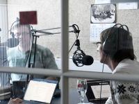 Mihkel Kübar, Meelis Sarv  Tre Raadios. Foto Urmas Saard Külauudised