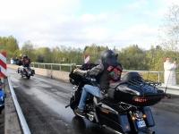 011 Mootorrattahooaja avapäeva paraadsõit läbib Sindit. Foto: Urmas Saard