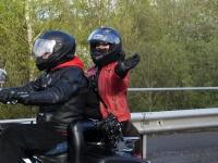 020 Mootorrattahooaja avapäeva paraadsõit läbib Sindit. Foto: Urmas Saard