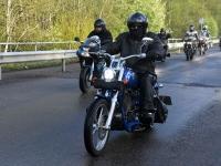022 Mootorrattahooaja avapäeva paraadsõit läbib Sindit. Foto: Urmas Saard