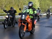 023 Mootorrattahooaja avapäeva paraadsõit läbib Sindit. Foto: Urmas Saard