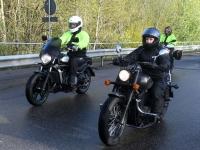 032 Mootorrattahooaja avapäeva paraadsõit läbib Sindit. Foto: Urmas Saard