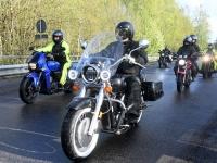 035 Mootorrattahooaja avapäeva paraadsõit läbib Sindit. Foto: Urmas Saard