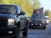 082 Mootorrattahooaja avapäeva paraadsõit läbib Sindit. Foto: Urmas Saard