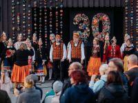 Muhu koor Muhu valla 30. aastapäeval 10. veebruaril 2020. aastal. Foto: Kalmer Saar
