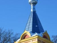 Renoveeritav Sindi Jumalailmumise kirik. Foto: Urmas Saard / Külauudised