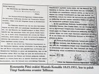 """007 Näitus """"Türgi Eesti sõprus läbi aegade"""" Raeküla Vanakooli keskuses. Foto: Urmas Saard"""
