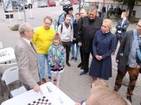 Nõmme huvikooli noorte kabetajate kohtumine Tallinna linnavolikoguga. Foto: Jukko Nooni