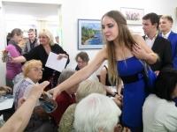 013 Olga Belash-Karasjova isikunäituse avamine Sindi muuseumis. Foto: Urmas Saard
